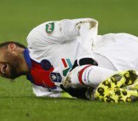 Neymar se retira con molestias y es duda contra el Barcelona