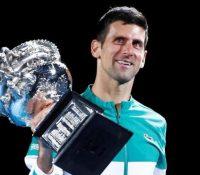 Djokovic logra el Abierto de Australia por novena vez