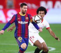 Un Barça en desventaja busca remontar ante el Sevilla