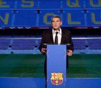 Laporta toma posesión de la presidencia del FC Barcelona