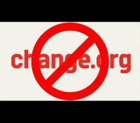 Crean una petición en Change.org para cerrar la plataforma