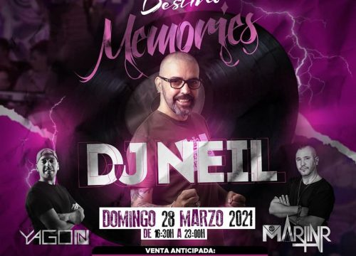 "Tardeo de ""remember"" con DJ Neil en Discoteca Destino"