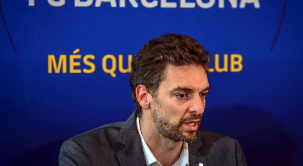Pau Gasol será presentado como jugador del Barça este jueves