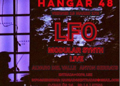 LFO Modular Synth Live con Álvaro del Valle y Antón Serrats