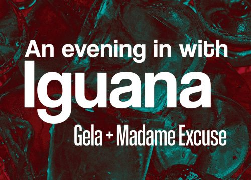 An Evening In with Iguana – Gela + Madame Excuse