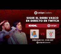 Ibai Llanos retransmitirá el primer partido de LaLiga por Twitch