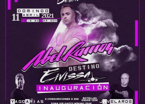 """Abel Ramos en el """"tardeo"""" de Discoteca Destino"""