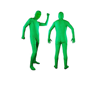 Se compra un traje para 'ser invisible' pero sale muy mal