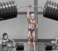 Sigue la rutina de ejercicio de un famoso personaje de anime y esto es lo que ocurre