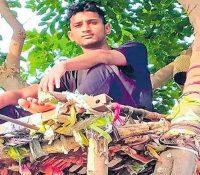 Un indio vive 11 días en un árbol para no transmitir el coronavirus a sus familiares