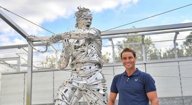 Rafael Nadal, conmemorado por Roland Garros con una estatua