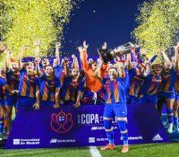 El Barça logra un histórico triplete ante el Levante