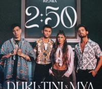 Duki y Tini Stoessel desatan las redes con el nuevo remix de '2:50'