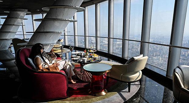Abre el hotel más alto del mundo