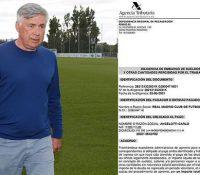 Hacienda exige al Real Madrid que embargue el sueldo a Ancelotti