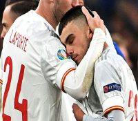 España se queda sin final en su mejor partido en la Eurocopa