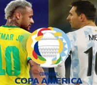 Messi y Neymar se jugarán el trono futbolístico de America
