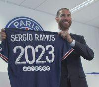 Sergio Ramos ya está en París