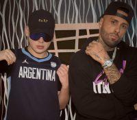 Nicky Jam y Bizarrap, pillados rodando su nuevo videoclip en Alcorcón