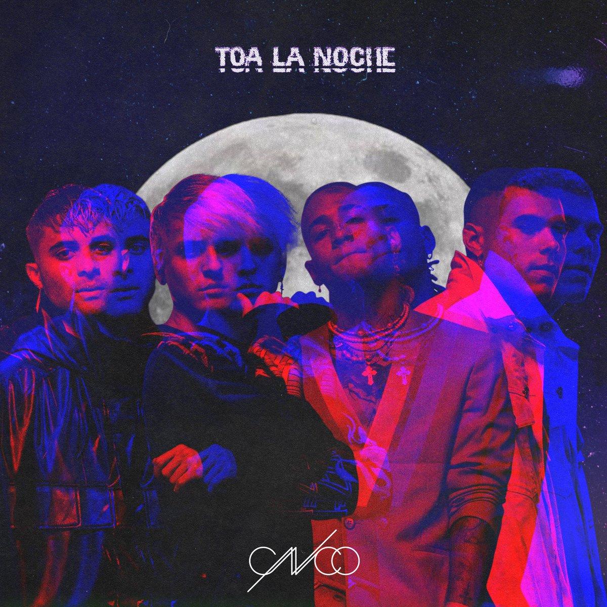 CNCO vuelve como banda de cuatro integrantes en To'a La Noche