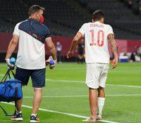 Debut olímpico con empate y dos lesiones