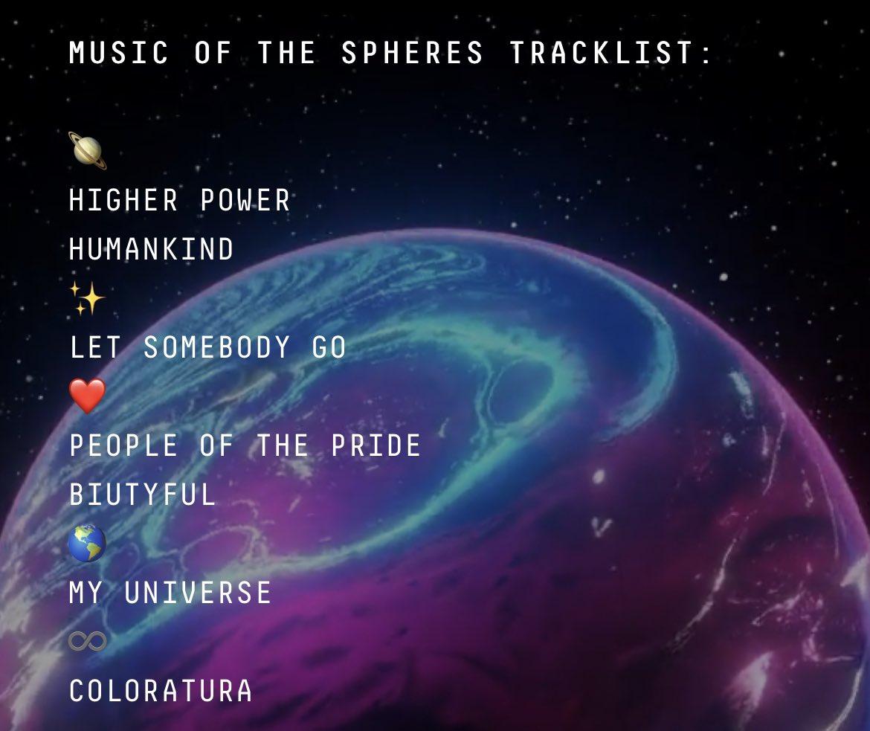 Coldplay anuncia todos los detalles de su nuevo disco, 'Music Of The Spheres'