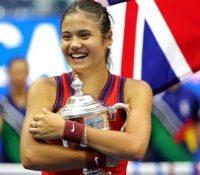 Emma Raducanu y su respuesta sobre en qué se gastará el dinero ganado en el US Open