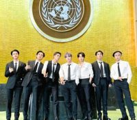 El grupo de K-Pop BTS promueven en la ONU las metas globales de desarrollo