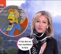 Susana Griso y el meme viral de 'Los Simpson'