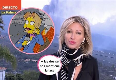 Susanna Griso y el meme viral de 'Los Simpson'