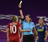 Kateryna Monzul dirigirá el equipo arbitral femenino para el Andorra-Inglaterra