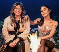 """""""Santa Can't You Hear Me"""", la canción navideña de Ariana Grande y Kelly Clarkson"""